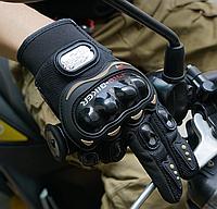 Защитные мото-перчатки PRO-BIKER MCS-01C (чёрные)