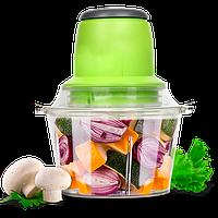 Блендер измельчитель для дома Vegetable Mixer 300 Вт Салатовый (47086)