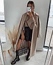 Короткая плиссированная юбка женская из экокожи (р. S, M) 77si468, фото 5