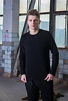 Мужской свитшот флисовый черный Intruder