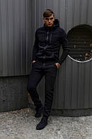 Спортивный костюм Spirited Hot Intruder Black - утепленный флисом + Подарок