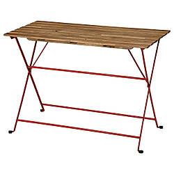 IKEA TÄRNÖ  Садовый столик, морилка красный / светло-коричневый (404.818.46)