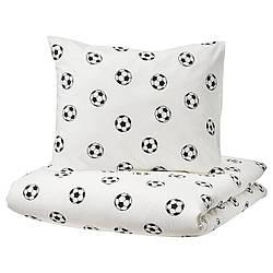 IKEA SPORTSLIG  Комплект постельного белья, узор в виде шара (304.913.27)