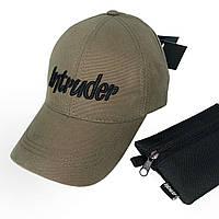 Кепка Intruder мужская | женская хаки брендовая + Фирменный подарок
