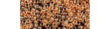 Чешский бисер Preciosa /10 для вышивания Бисер оранжевый прозрачный 01682