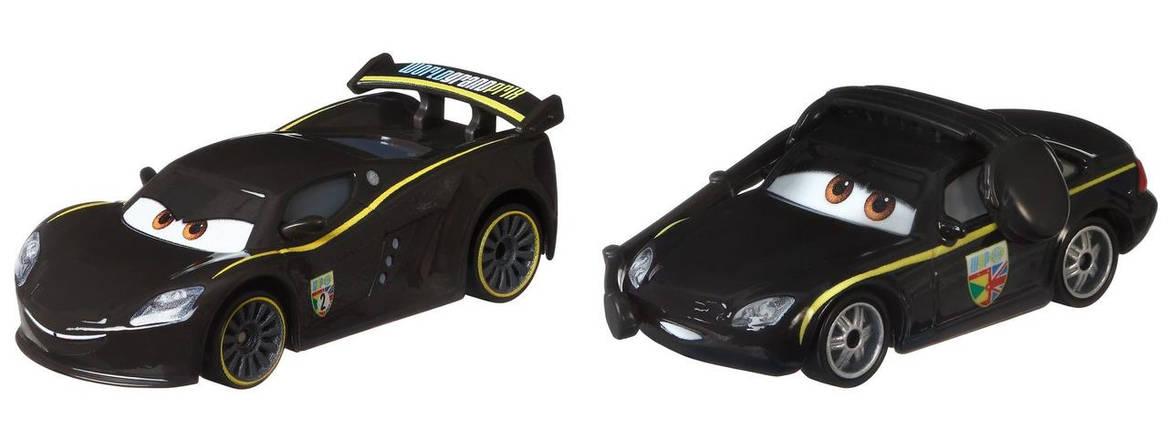 Тачки 3: Льюїс Хемілтон і Брюс Боксман (Lewis Hamilton and Bruce Boxmann) Disney Pixar Cars від Mattel, фото 2