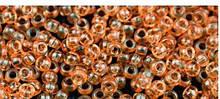Чешский бисер Preciosa /10 для вышивания Бисер оранжевый прозрачный 01683