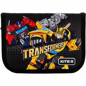 Пенал школьный без наполнения Kite Transformers Черный (TF20-622-1)
