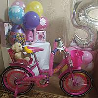 Велосипед детский двухколесный 20 дюймов Герлз Girls корзинка для кукол