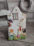 Дошка кухонна із дерева,  для декору, Н -22см, 135/105 грн, великодній декор, фото 7