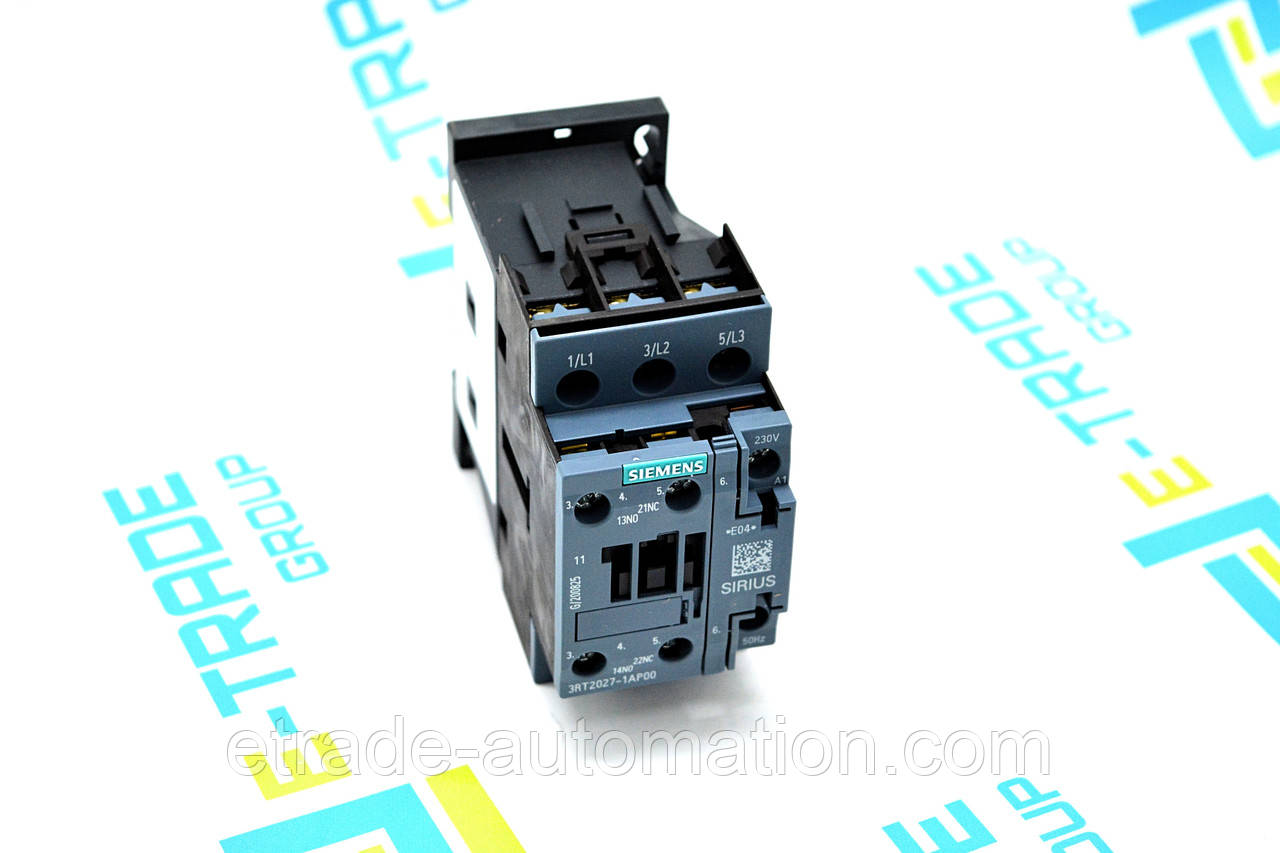 Контактор Siemens 3RT2027-1AP00