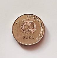 1 песо Доминиканская республика 2005 г., фото 1
