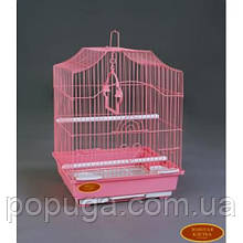Клетка для птиц 112 золото, 30*23*39