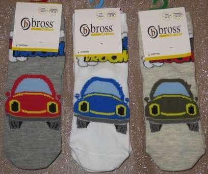 Носки для грудничков демисезонные Bross из хлопка