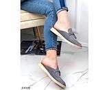 Лоферы бренд без задника, фото 3