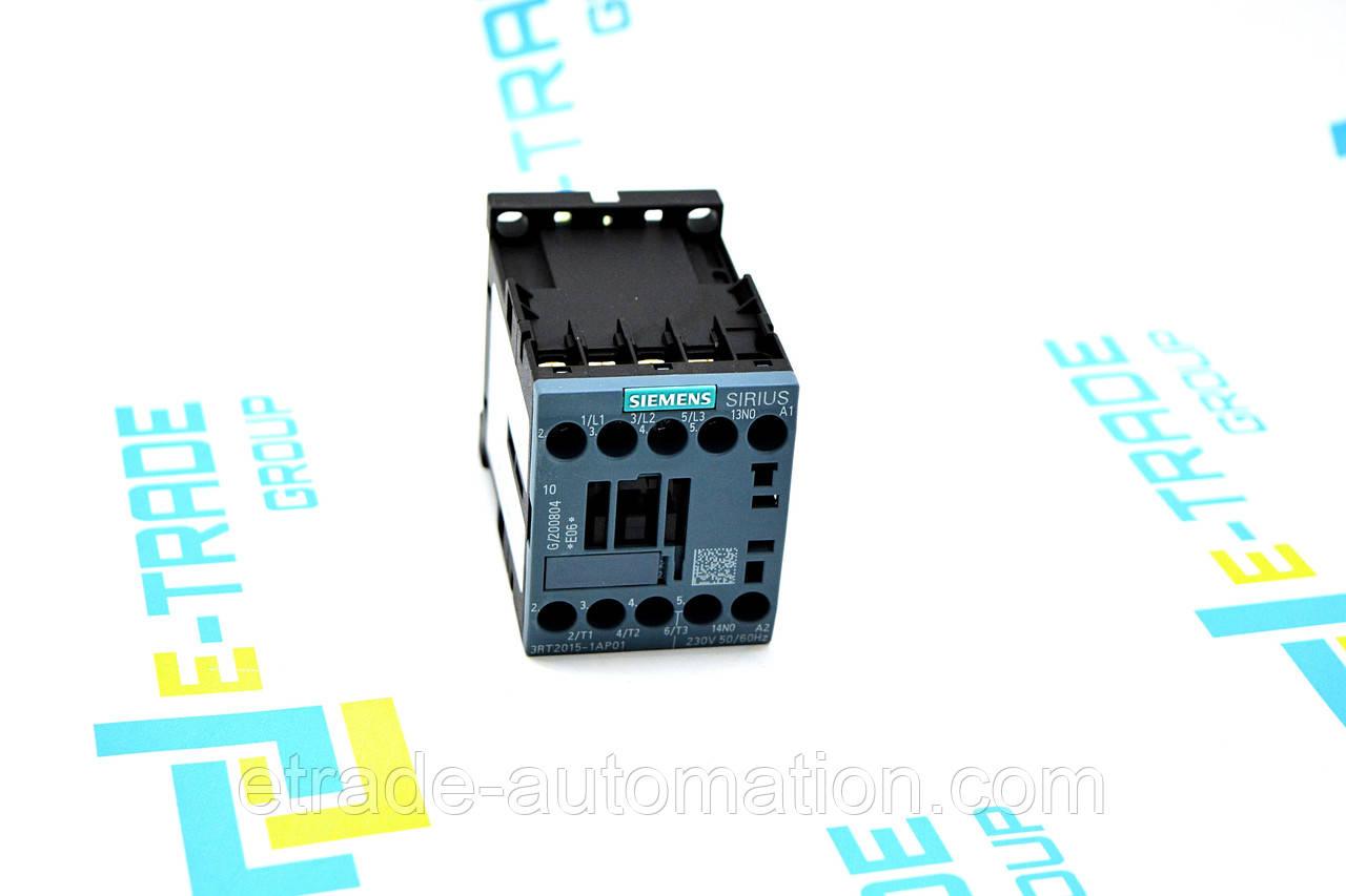 Контактор Siemens 3RT2015-1AP01