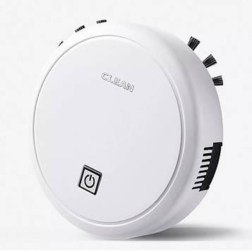 Робот пылесос Clean ES23, автоматический пылесос на аккумуляторе, умный робот который сам убирает (SV)