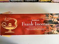 Darshan Ладан Frank Incense Ароматические угольные палочки Благовония Шестигранник