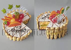 Копилка торт 15х15х13см