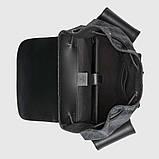 Рюкзак Gucci Soft GG Supreme Backpack Black/Grey, фото 5