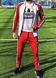Спортивный костюм Adidas classic red, фото 2