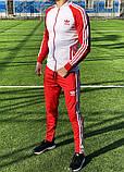 Спортивный костюм Adidas classic red, фото 4