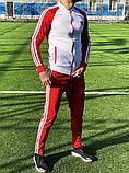 Спортивный костюм Adidas classic red, фото 5