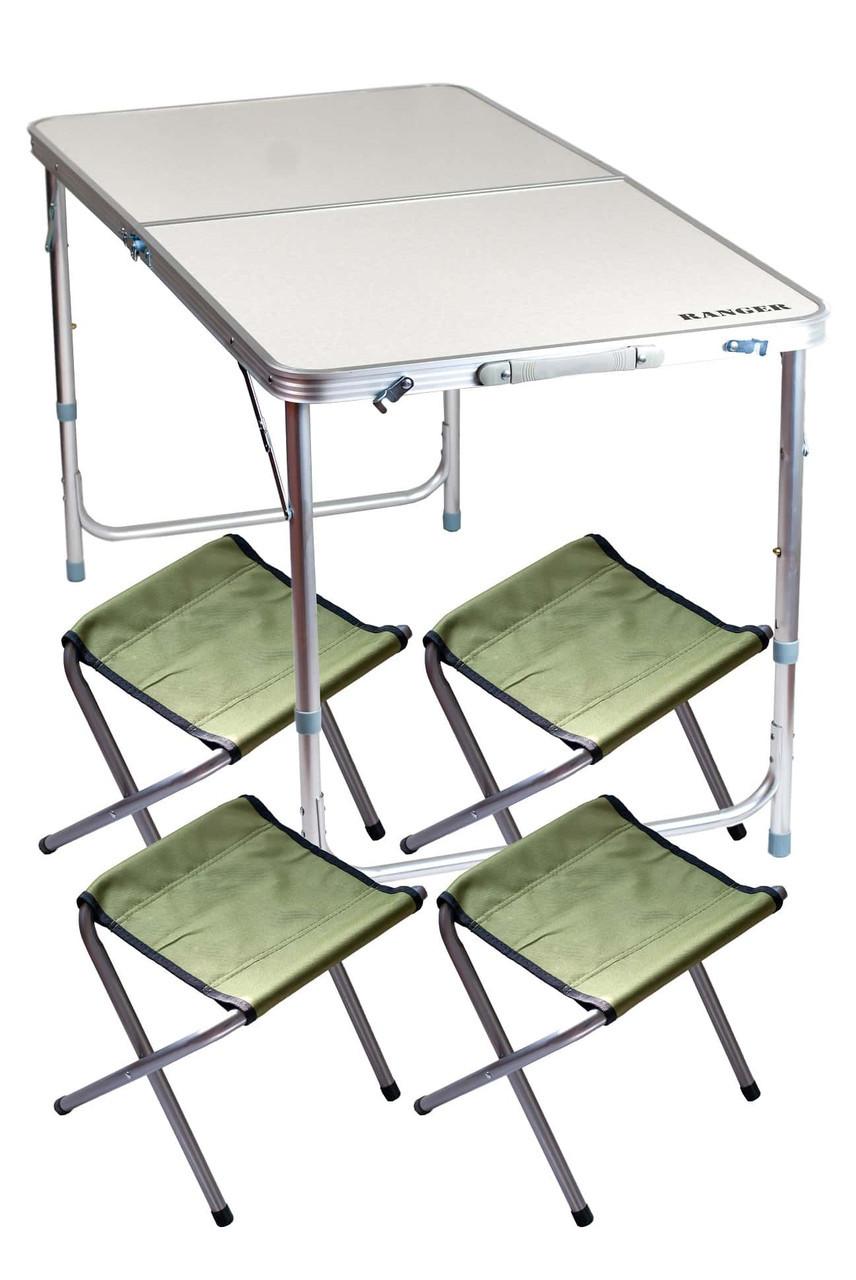 Стол компактный и 4 стула Ranger RA 1106