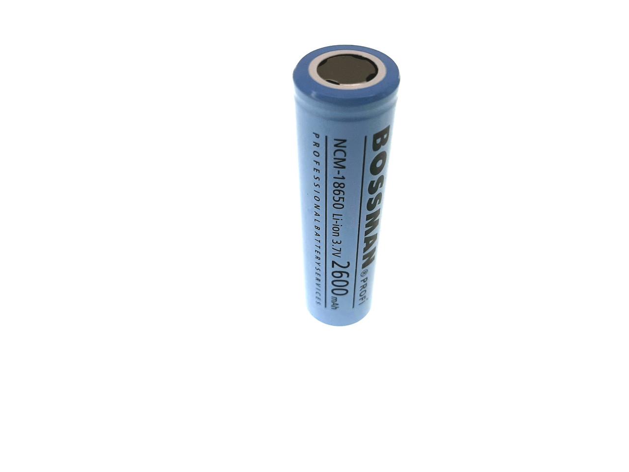 Акумулятор Bossman Profi 18650 2600mAh NCM18650-3C