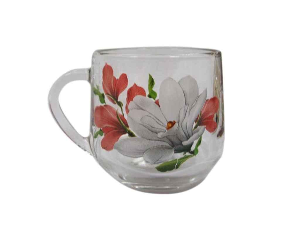 Чашка скляна Граміне 300мл Магнолія 18с2022 ТМ ОСЗ