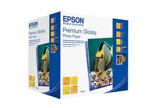 Фотопапір EPSON Premium Glossy Photo Paper глянсова 255г/м2 10х15см 500л (C13S041826)
