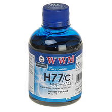 Чернила WWM для HP 177/85 (Cyan) (H77/C) 200г