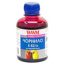 Чернила WWM EPSON Stylus Photo T50/P50/PX660 (Magenta) E82/M 200г