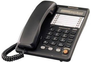 Провідний телефон Panasonic KX-TS2365UAB Black