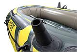 """Двомісний човен надувний Intex """"Seahawk 2 SET"""", 68347, з насосом і веслами, 236*114*37 см, фото 7"""