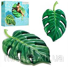Матрас 58782 Пальмовый лист, 213-142СМ, Ремкомплект, в коробке, 30,5-27-8СМ