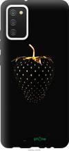"""Чохол на Samsung Galaxy A02s A025F Чорна полуниця """"3585u-2203-2448"""""""