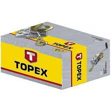 Лебедка Topex канатная с храповым тормозом 0.9 т, канат 10 м (97X087)