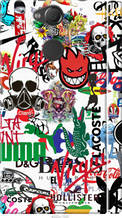 "Чохол на Sony Xperia XA2 H4113 Many different logos ""4022c-1357-2448"""