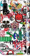 "Чохол на Meizu 16S Many different logos ""4022c-1701-2448"""