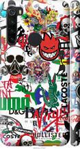"Чохол на Xiaomi Redmi Note 8 Many different logos ""4022c-1787-2448"""