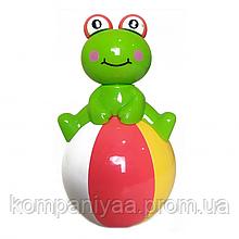 Дитяча іграшка Неваляшка 6521 із звуковими ефектами (Жаба)