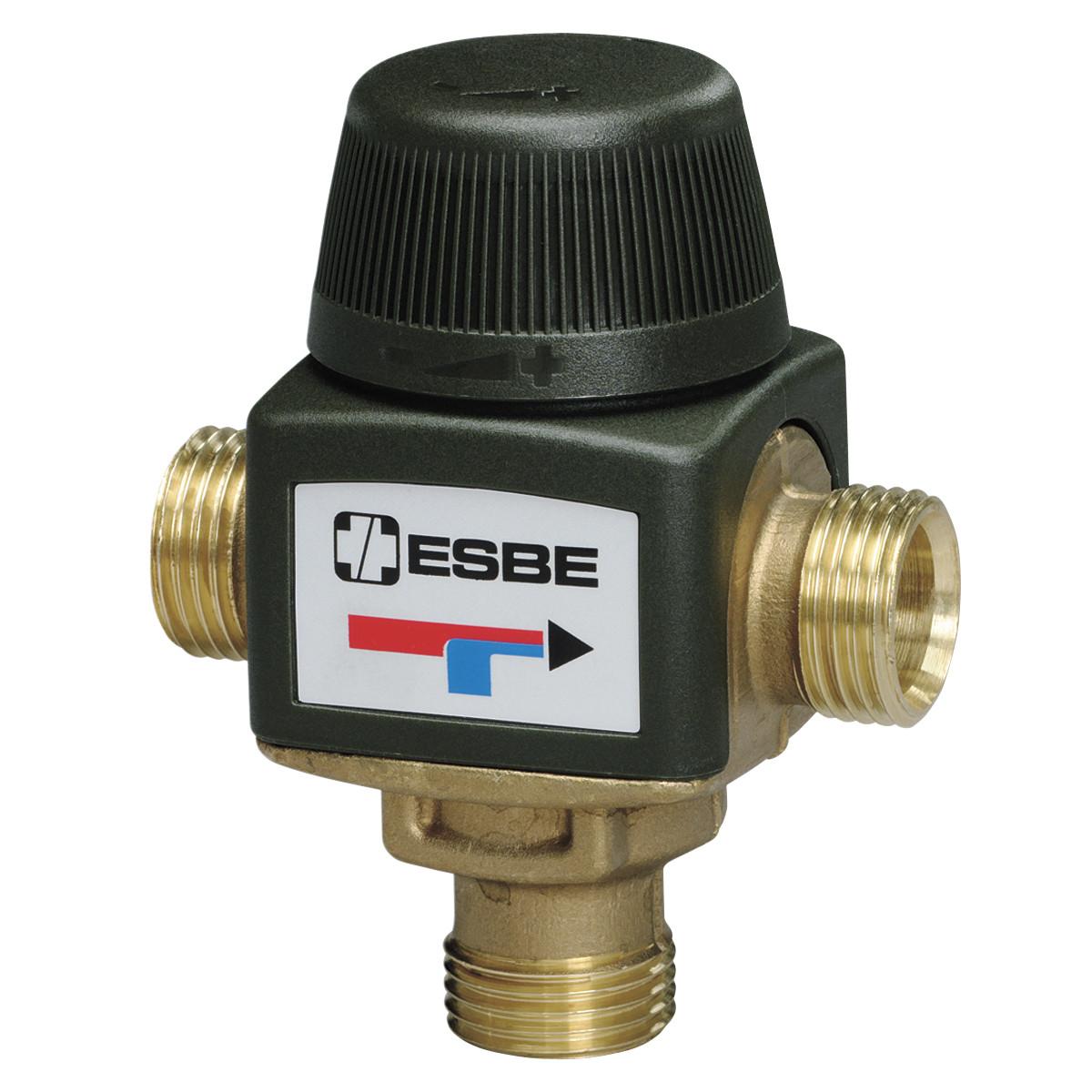 Термостатический смесительный клапан VTA322 Esbe 1 дюйм 20-43 градуса