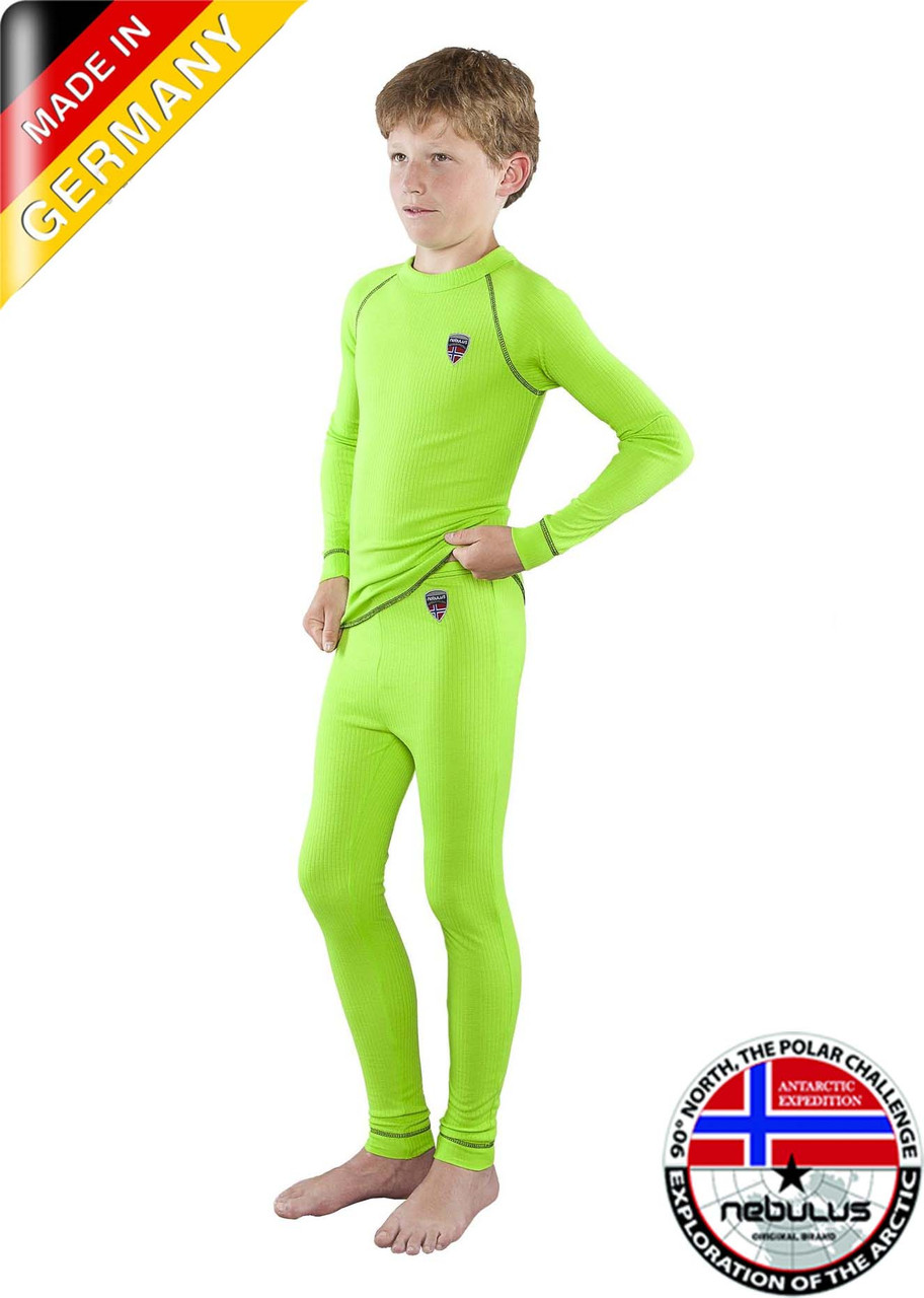 Термобілизна дитяча Nebulus Gruen (140 см ) зелений Німеччина