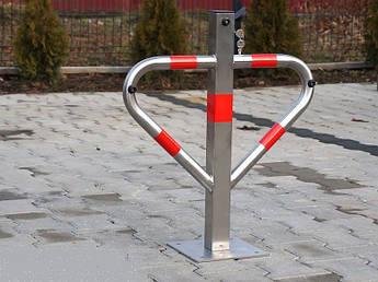 """Бар'єр паркувальний - трикутник """"INOX"""" Krosstech"""