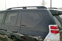 Рейлинги Toyota Land Cruiser Prado 150 (2009-) Черные усиленные (63401-60020)