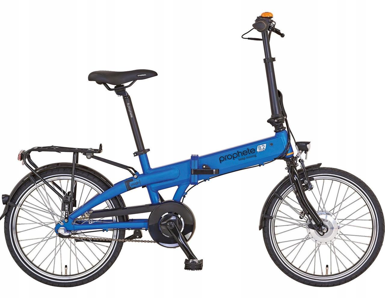 Электровелосипед складной Prophete 20 Nexus 3 Blue Германия