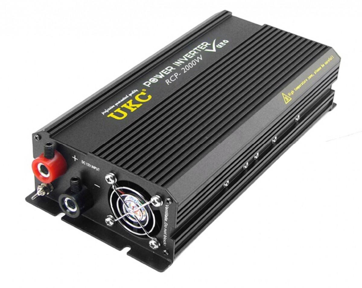 Инвертор автомобильный UKC RCP-2000W 12V ModSine