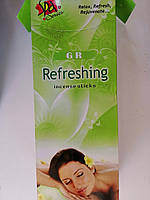 GR Свежесть Регенерация Роза и Сандал Refreshing Rose & Sandal Incense Sticks Ароматические палочки