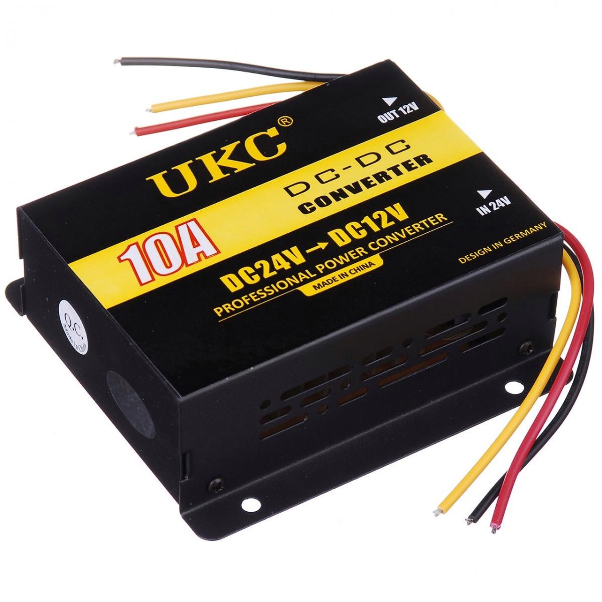 Конвертер автомобильный UKC DDC-10A 24V-12V